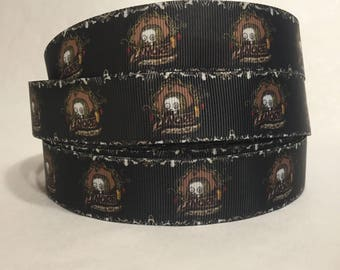 "1/3/5/10 Yards - 1"" Lenore Print Grosgrain Ribbon"