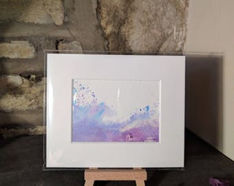 Original ACEO watercolour painting 'Wave'