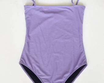 Lilac one-piece swimsuit, XS