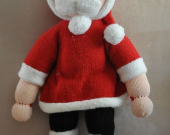 Father Christmas in wool