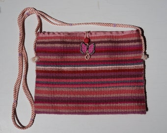Bag in lilac colour