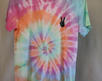 Size 16 - Ready To Ship - Unisex - Children - Kids - Tie Dyed T-shirt - Tee's - 100% Cotton - FREE SHIPPING within Aus
