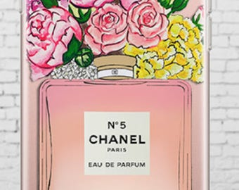 Chanel N5 Iphone Clear Case
