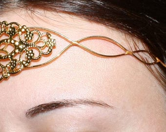 Golden diadem