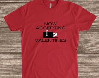 Toddler Valentines Day Shirt - Now Accepting Valentines - Youth Valentines Shirts - Toddler Shirts - Toddler Boy Valentines