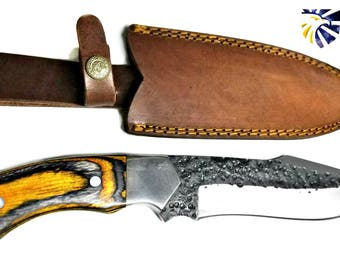 High Carbon 1080 Custom Knife by Dany : Titan TC-006