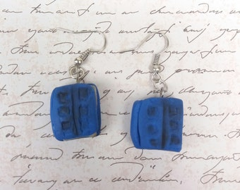 River Songs diary earrings (Doctor Who)