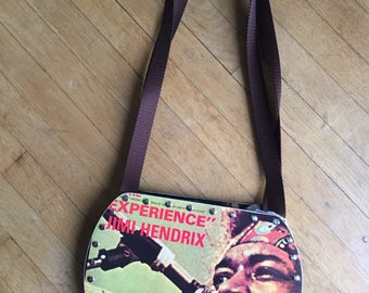 Jimi Hendrix - Experience Vinyl Record Purse