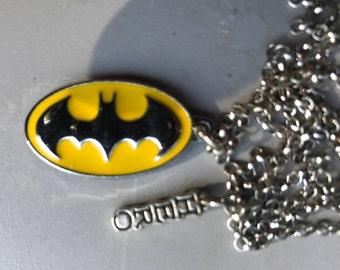 Batman Pendant Necklace,