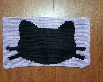 Pet Placemat - Cat Silhouette - Free Shipping!