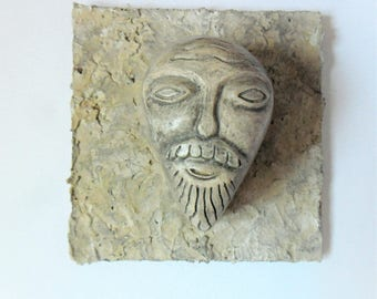 Gargoyle Style Ceramic Miniature Wall Decoration