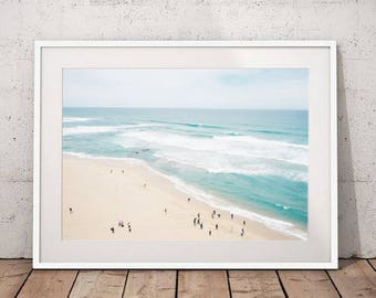 Ocean Photography Beach Print Modern Beach Decor, Ocean Print, Beach Photography Nautical Decor Beach Photo Download Coastal Decor Download