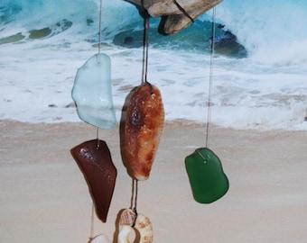 "Sea Glass Chime: ""The Wedge"""