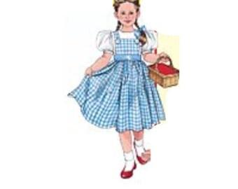 Dorthy Wizard of Oz Costume  baby girl woman Halloween Cosplay handmade