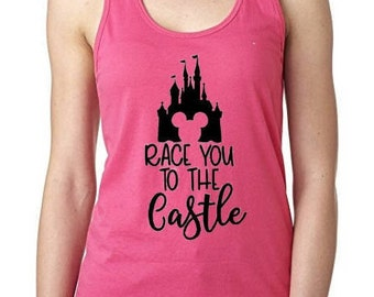 Race you to the Castle Tank