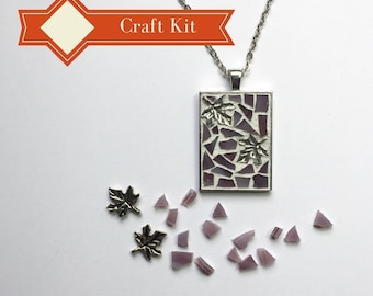 Gift kit etsy diy holiday gift teenage girl gift pendant necklace kit do it yourself craft solutioingenieria Gallery