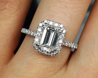 Outstanding handcrafted 1.82cts diamond ring