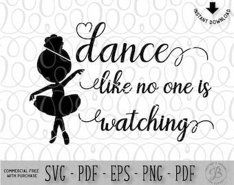 Ballet SVG, Ballerina SVG, Dancer SVG, Svg files, Svg files for cricut
