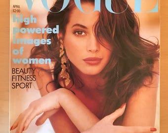 Vogue magazine April 1988