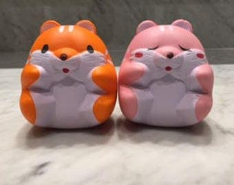 Hamster squishies!! *super slow rising* ONLY ORANGE one left