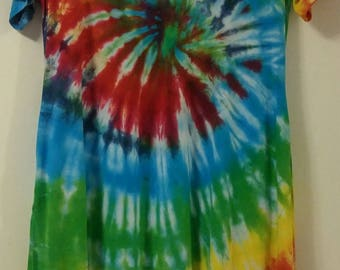Large Tie Dye Pocket Dress