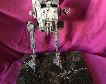Star Wars AT-ST Scout Trooper diorama