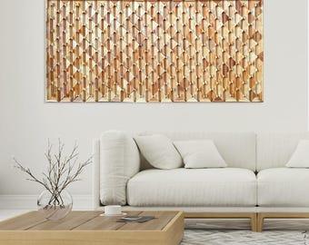 Wood Wall Art, Modern And Decorative Wall Art Wood Panel, Large Wood Wall  Art