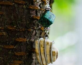 Fan Scallop Seashell Necklace