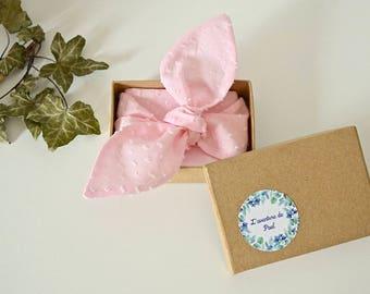 Headband for baby - Headband - dots - box