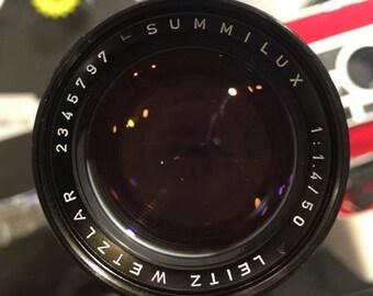 Leica Summilux 50mm f/1.4 Ver.II Lens
