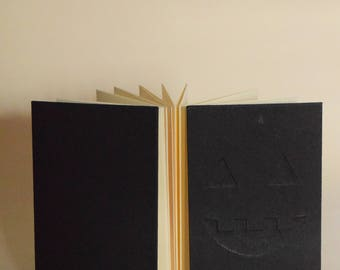 Black Jack-o-lantern Accordion Book