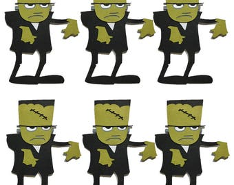 Frankenstein Cupcake Topper