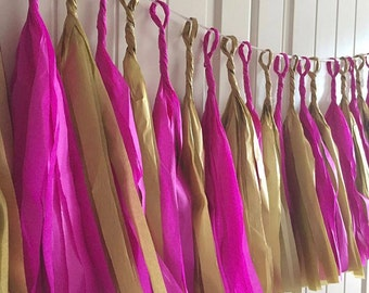 Ready made tassel garland