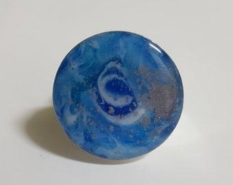 Ocean Inspired Resin Ring