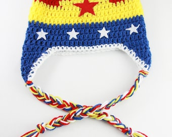 Wonder Woman Inspired Hat