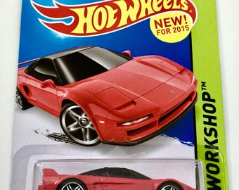 Hot Wheels '90 Acura NSX - Rare - HW Workshop #218/250 - RARE - Free Shipping