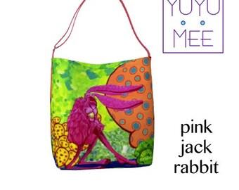 PINK JACKRABBIT Day Tote