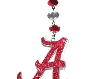 UNIVERSITY of ALABAMA *Bling* MAGNETIC Ornament,Crimson Tide Home Decor, Roll Tide Decor, Roll Tide Ornament, Roll Tide, Bama