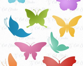 Butterfly Svg, Butterfly Monogram, Butterflies SVG, Svg Files for Silhouette Cameo or Cricut Commercial & Personal Use.