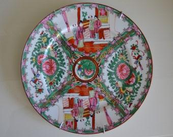 Hand-painted Macau Porcelain Plate China