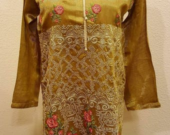 Pakistani Formal Embroidered Tops