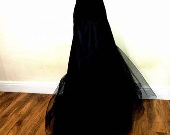 Mermaid Petticoat Fishtail Underskirt Skirt