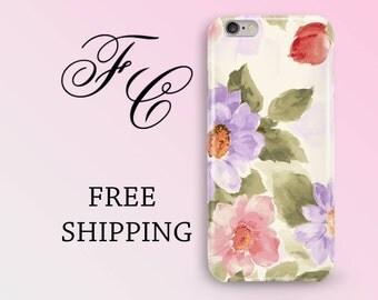 iPhone 7 Plus Case Floral iPhone 7 Case Flower iPhone 5s Phone Case iPhone 6s Case iPhone SE Case iPhone 6 Plastic Case iPhone 6 Plus aad
