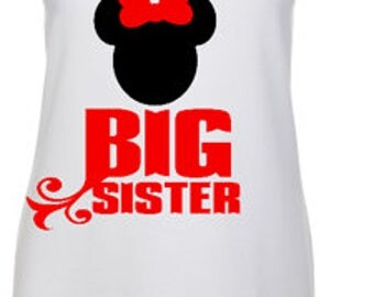 Big Sister mickey shirt