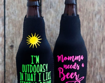 Customizable Beer Cozy