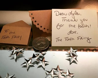 Personalized Tooth Fairy Coin Kit