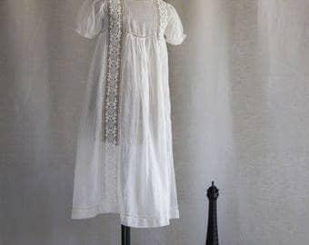 Vintage Christening Gown P0860