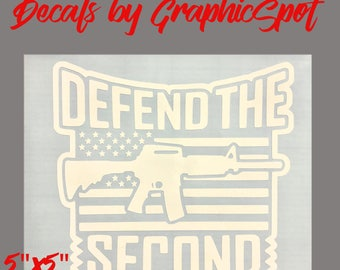 Defend The Second Amendment Decal