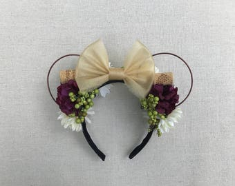 Food and Wine Mouse Ears