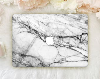 Grey Marble Macbook 12 Case Laptop Black Case Macbook Pro 13 Cover MacBook Air 13 Hard Case Macbook Pro 15 Case Hard Macbook Air Case YZM013